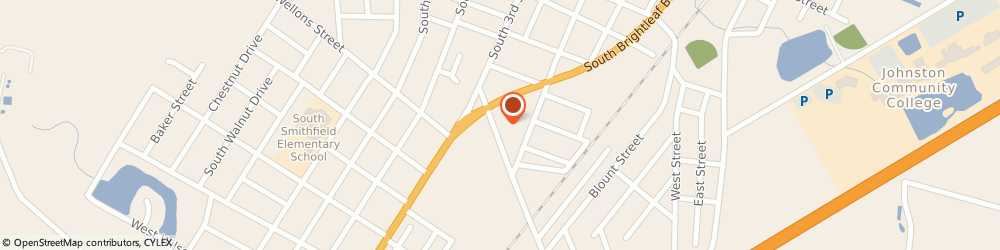Route/map/directions to Rugdoctor Carpet Cleaner, 27577 Smithfield, 829 S. Brightleaf Blvd