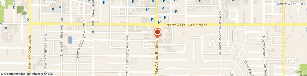 Route/map/directions to Bank of America, 73122 Oklahoma City, 3501 N MACARTHUR BLVD