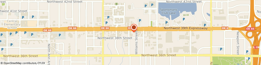 Route/map/directions to a Acinitox Exterminating Service, 73112 Oklahoma City, 4244 NORTHWEST 39TH STREET