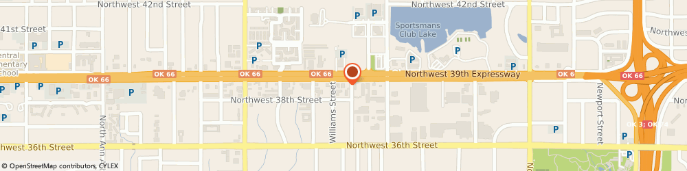 Route/map/directions to b & H Supply Co - Northwest Store, 73112 Oklahoma City, 4210 NORTHWEST 39TH STREET
