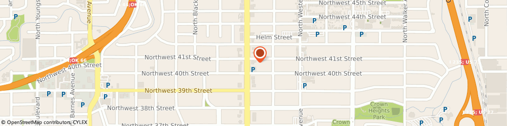 Route/map/directions to Bank of America, 73118 Oklahoma City, 4114 N CLASSEN BLVD