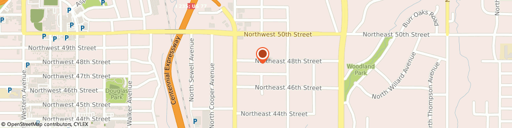 Route/map/directions to Midwest Insulation & Material Co, 73105 Oklahoma City, 38 NORTHEAST 48TH STREET