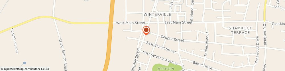 Route/map/directions to Navy Federal Credit Union ATM, 28590 Winterville, 211 Mill St