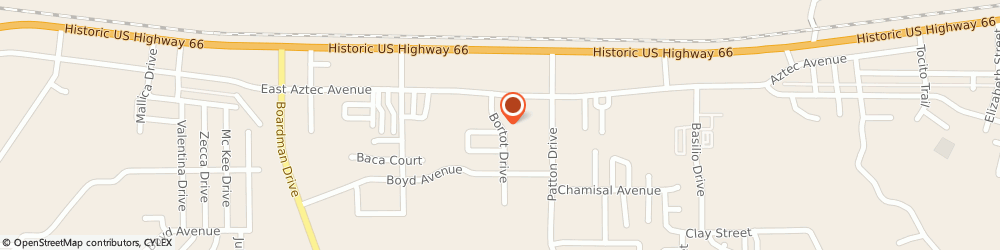 Route/map/directions to A & A Auto Towing, 87301 Gallup, 410 Bortot Drive