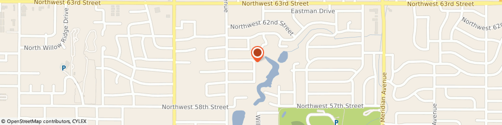 Route/map/directions to AAU Of Oklahoma, 73122 Oklahoma City, 5000 NORTHWEST 61ST STREET