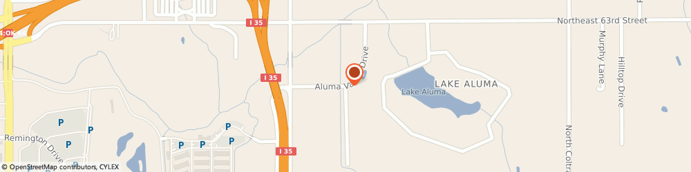 Route/map/directions to American Truck Training, 73121 Oklahoma City, 3200 Aluma Valley Dr