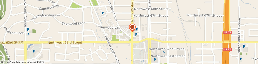 Route/map/directions to Bank of America, 73116 Oklahoma City, 6410 AVONDALE DR