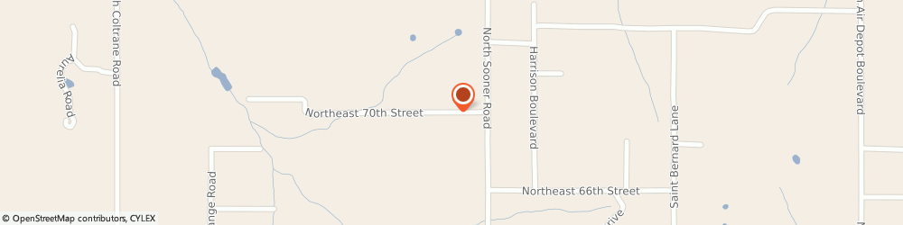 Route/map/directions to Reed Management Group, 73121 Oklahoma City, 4900 NE 70TH CT