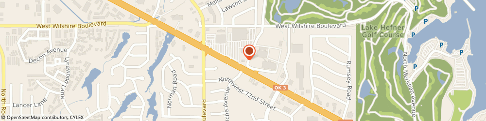 Route/map/directions to Bank of the West, 73132 Warr Acres, 5757 NW Expressway