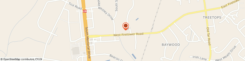 Route/map/directions to Navy Federal Credit Union ATM, 28590 Winterville, 632 West Firetower Road