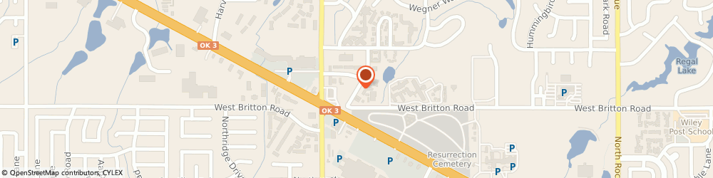 Route/map/directions to Shelter Insurance, 73162 Oklahoma City, 9422 Westgate Rd, Ste C