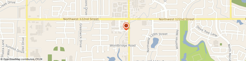 Route/map/directions to Withers Larry d Dds, 73162 Oklahoma City, 6001 NW 120th Ct. #8