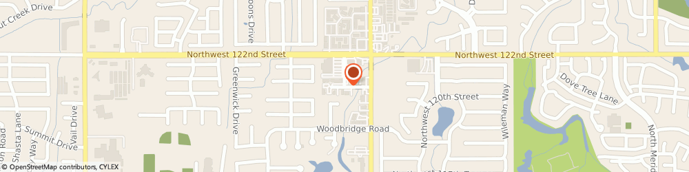 Route/map/directions to United Therapeutic Corporation, 73162 Oklahoma City, 6006 NORTHWEST 120TH COURT