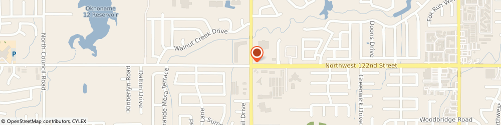 Route/map/directions to Merkleys Driving School, 73142 Oklahoma City, 12311 NORTH ROCKWELL AVENUE