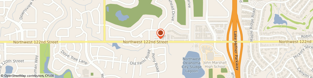 Route/map/directions to Bank Of America Mortgage, 73120 Oklahoma City, 4131 NW 122ND ST