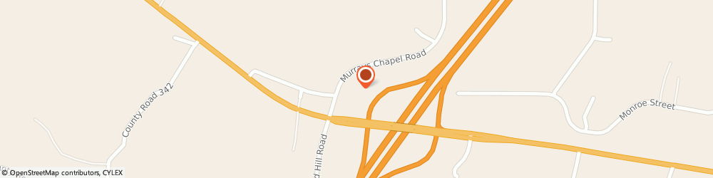 Route/map/directions to Super 8 SWEETWATER, 37874 Sweetwater, 1421 Murrays Chapel Road