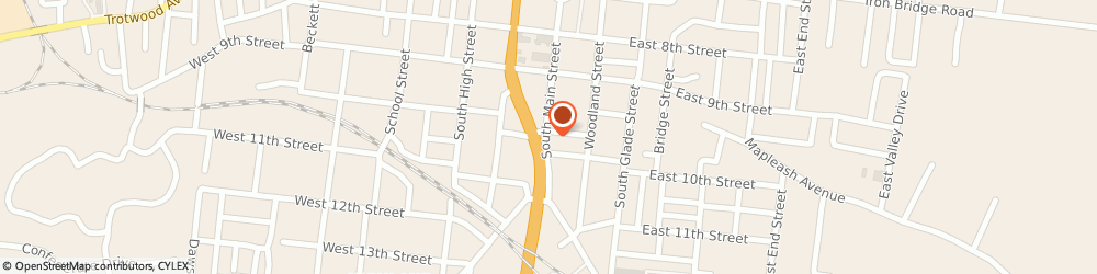 Route/map/directions to Hanes Accounting Services By Succentrix, 38401 Columbia, 1103 S Main St,
