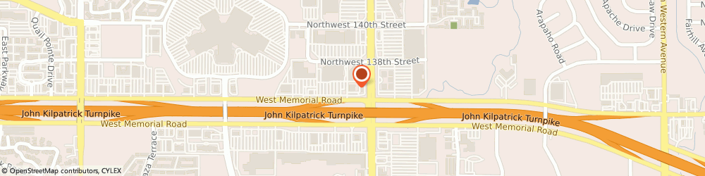 Route/map/directions to Aspen Dental, 73134 Oklahoma City, 2123 W Memorial Rd