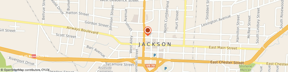 Route/map/directions to H & r Block - Local Offices, Jackson, 38301 Jackson, 205 NORTH HIGHLAND AVENUE