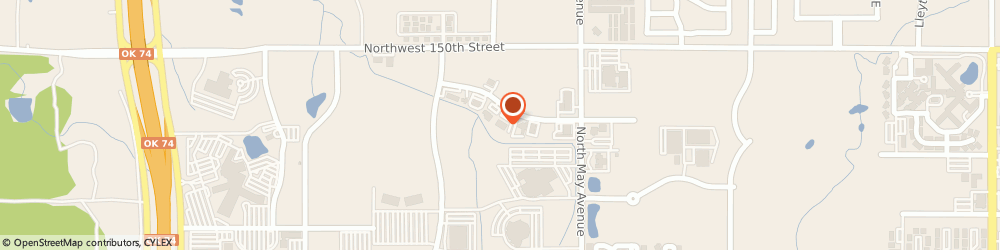 Route/map/directions to New Horizons, 73134 Oklahoma City, 3010 Nw 149Th St.