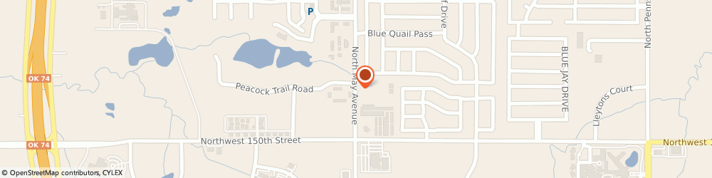 Route/map/directions to Shelter Insurance, 73013 Edmond, 15310 N May Ave, Ste 104