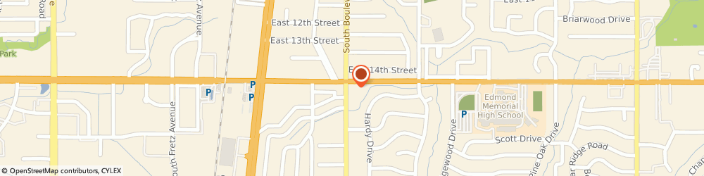 Route/map/directions to 7-Eleven Stores - Number 30, 73013 Edmond, 1500 SOUTH BOULEVARD STREET