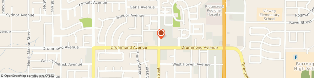 Route/map/directions to Studio Eight, 93555 Ridgecrest, 995 NORTH NORMA STREET SUITE E
