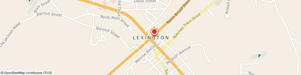Route/map/directions to SHOE SHOW, 38351 Lexington, The Shops At Lexington, 541 W Church St, Ste I