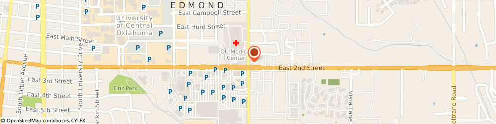 Route/map/directions to 7-Eleven Stores - Number 67, 73034 Edmond, 112 SOUTH BRYANT AVENUE