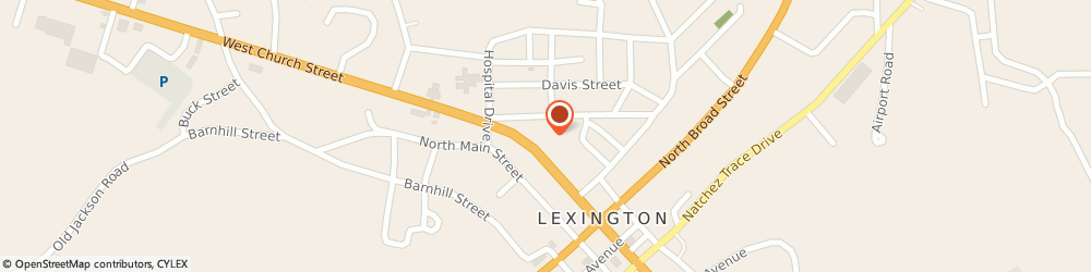 Route/map/directions to Direct Tv, 38351 Lexington, STREET