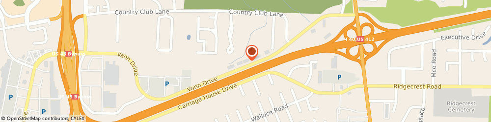 Route/map/directions to World Finance, 38305 Jackson, 367 Vann Dr.