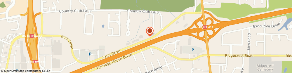 Route/map/directions to Professional Financial Svc, 38305 Jackson, 319 VANN DR # G