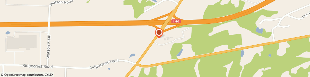 Route/map/directions to I-40 Exit 87 BBQ Stand, 38305 Jackson, 2049 Hwy 70 E