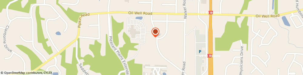 Route/map/directions to Green Frog Coffee Co, 38305 Jackson, 1410 Union University Drive