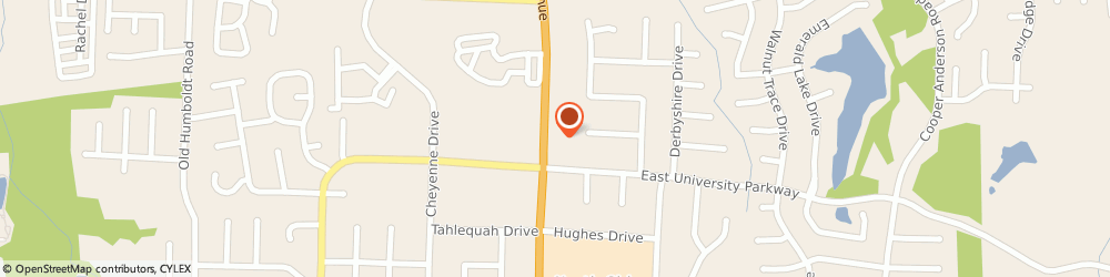 Route/map/directions to Jack's, 38305 Jackson, 3180 North Highlands Ave