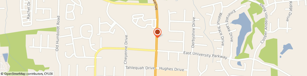 Route/map/directions to US Donuts, 38305 Jackson, 3189 N Highland Ave Ste C