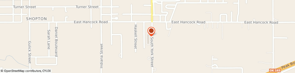 Route/map/directions to STATE FARM David Kolb, 74403 Muskogee, 2421 S York St # 1