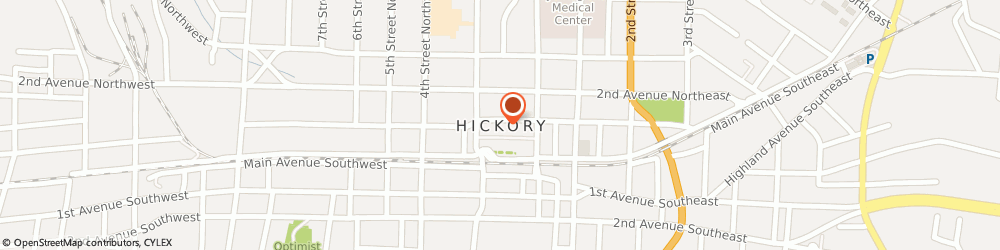 Route/map/directions to Overhead Door, 28602 Hickory, 861 21St Street Dr. Se