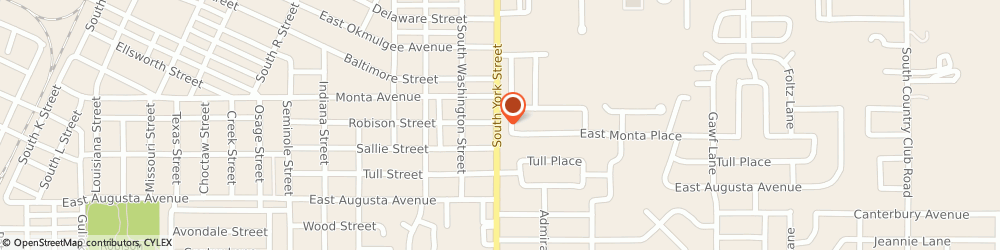 Route/map/directions to Farmers Insurance - Fallon Kelley, 74403 Muskogee, 610 N York St
