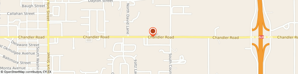 Route/map/directions to Safeco Insurance Agent, 74403 Muskogee, 3423 Chandler Road