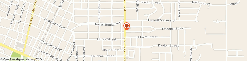Route/map/directions to Farmers Insurance - R Wayne Buck, 74403 Muskogee, 610 N York St