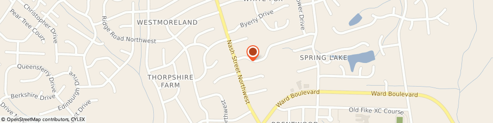 Route/map/directions to Dove Health Care Incorporated, 27896 Wilson, 2843 Daisy Ln N