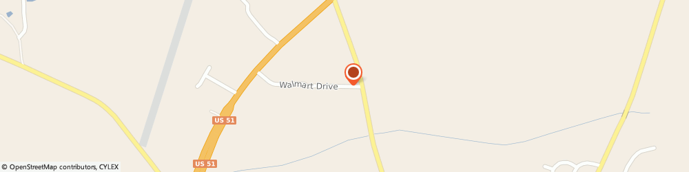 Route/map/directions to Chase, 38063 Ripley, 118 WALMART DRIVE