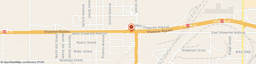 Route/map/directions to State Farm: DJ Witty, 74401 Muskogee, 139 W Shawnee Street