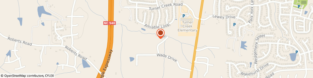 Route/map/directions to Rvb Systems Group, 27519 Cary, 6952 WADE DRIVE