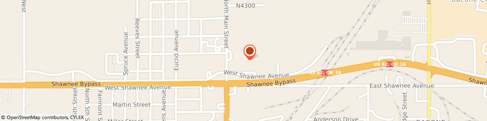 Route/map/directions to CITIBANK ATM, 74403 Muskogee, 4 E. Shawnee Rd