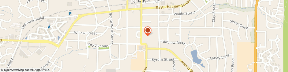 Route/map/directions to Latenight Creative LLC, 27511 Cary, 315 SOUTH ACADEMY STREET