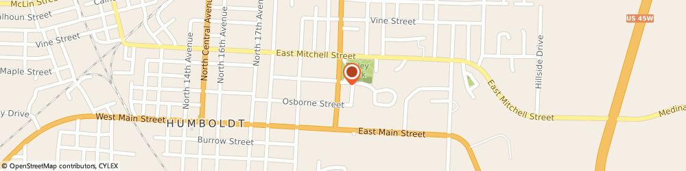 Route/map/directions to Navy Federal Credit Union, 38343 Humboldt, 316 N. 22Nd Avenue