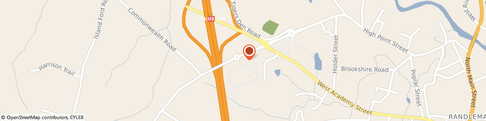 Route/map/directions to Bojangles, 27317 Randleman, 983 High Point Street