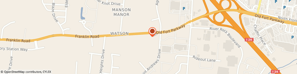 Route/map/directions to Get Well Clinic, 37128 Murfreesboro, 2705 Old Fort Parkway